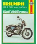 Triumph 650 & 750 2-valve Twins - Haynes Manual